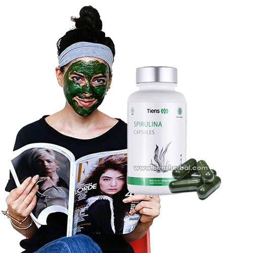 paket masker spirulina asli resmi Tiens