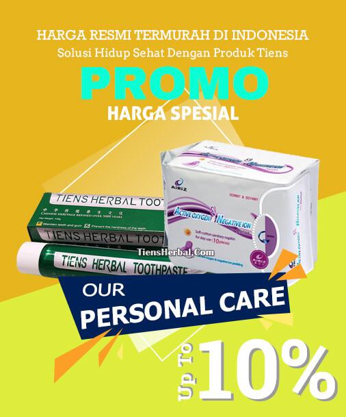 Paket Personal Care perawatan pribadi tiens